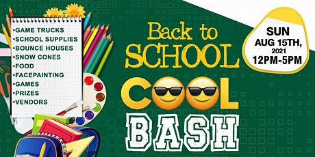 Back to School COOL Bash tickets