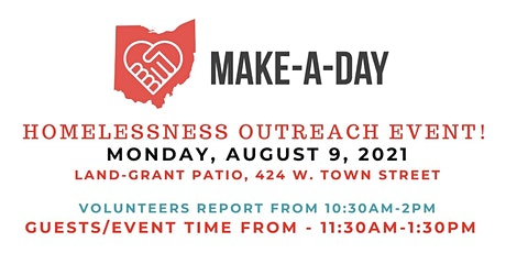 Make-A-Day Volunteer Registration for August 9 Homelessness Outreach Event tickets