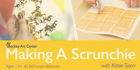 Making A Scrunchie: Workshop tickets