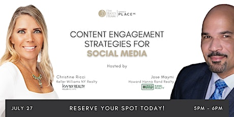 Content Engagement Strategies for Social Media tickets