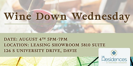 Wine Down Wednesday Open House tickets