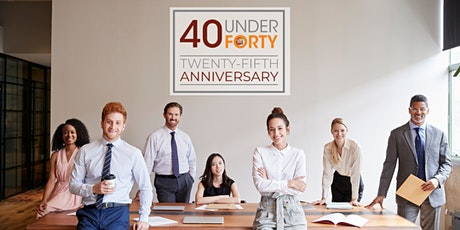 The Hartford Business Journal's 2021 40 Under Forty: 25th Anniversary tickets