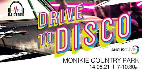 DJ Derek Drive in Disco at Monikie Country Park tickets