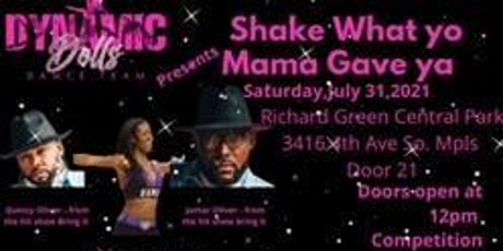 Dynamic Dolls Dance Competition: Shake what yo mama gave ya tickets