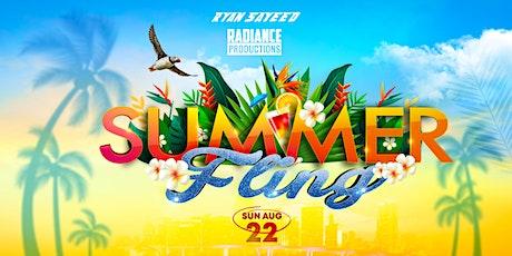 SUMMER FLING tickets