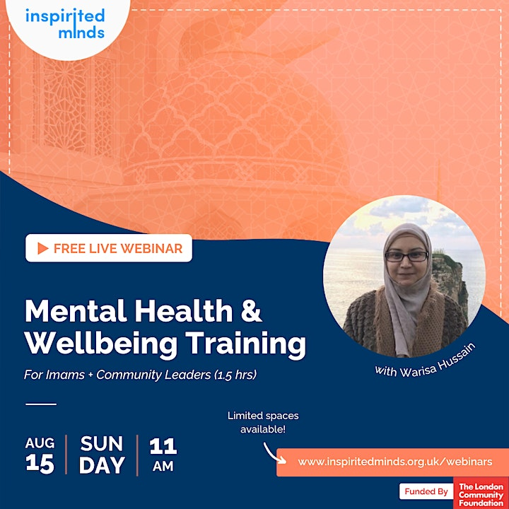 Mental Health & Wellbeing Training For Imams and Community Leaders image