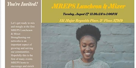 MREPS Luncheon & Mixer tickets