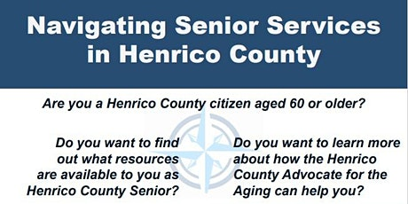 Navigating Senior Services in Henrico County tickets
