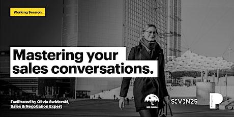 Master Your Social Enterprise's Sales Conversations tickets