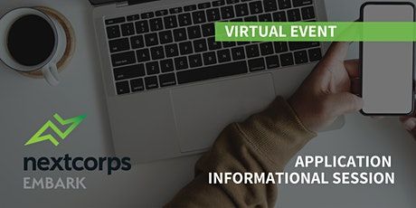 NextCorps Embark: Application Informational Session tickets