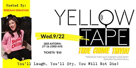 Yellow Tape: True Crime Trivia tickets