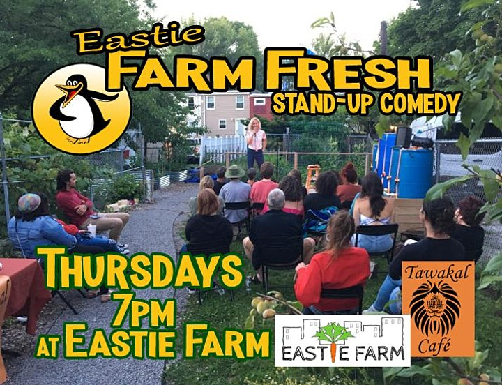 Farm Fresh Stand-up Comedy at Eastie Farm, East Boston image