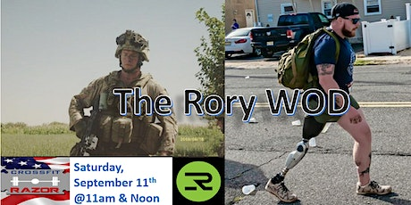Rory Memorial WOD tickets