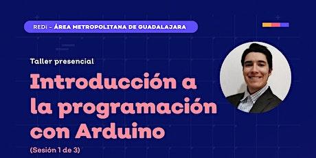 Introducción a la programación con Arduino  1 de 3 tickets