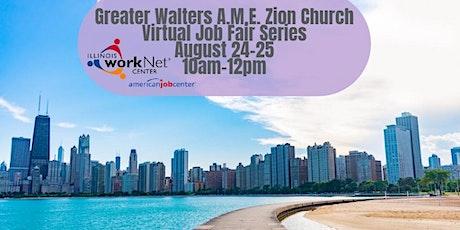 Greater Walters A.M.E. Zion Church Virtual Job Fair tickets
