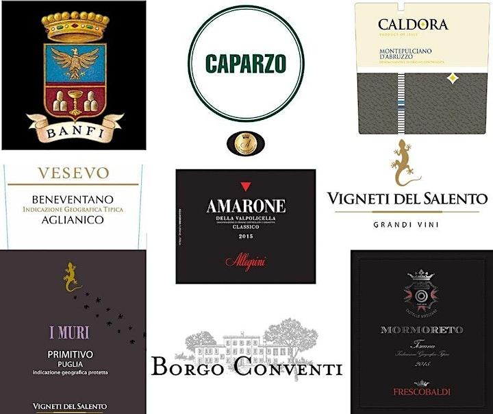 Ferragosto Italian Wine and Food Tasting image