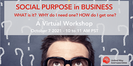 Social Purpose: What is it? Why do I need one? How do I get one? tickets