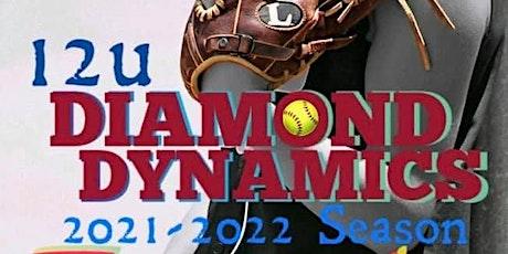 Diamond Dynamics 12U Tryouts - 7/27 @ 6pm - 8/4 @ 6pm tickets