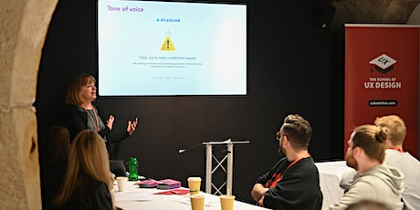 UX Writing and Content Strategy workshop at The School of UX tickets
