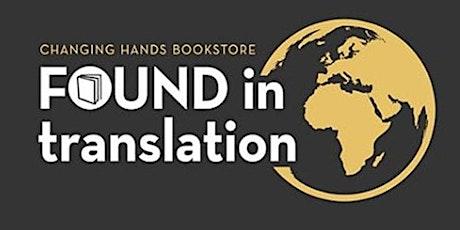 Found in Translation Book Club (August 2021) tickets