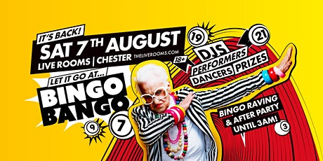 Bingo Bango Chester tickets