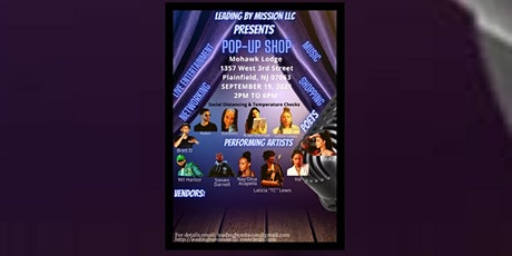 Pop Up Shop with Live Entertainment tickets
