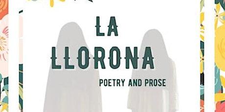 La Llorona, Poetry & Prose, by Olga Rosales Salinas, RSS Fundraiser tickets