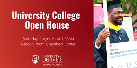 University College Open House tickets