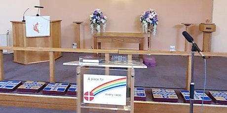 Sunday service led by local preacher in training Adebayo Jolaoso tickets