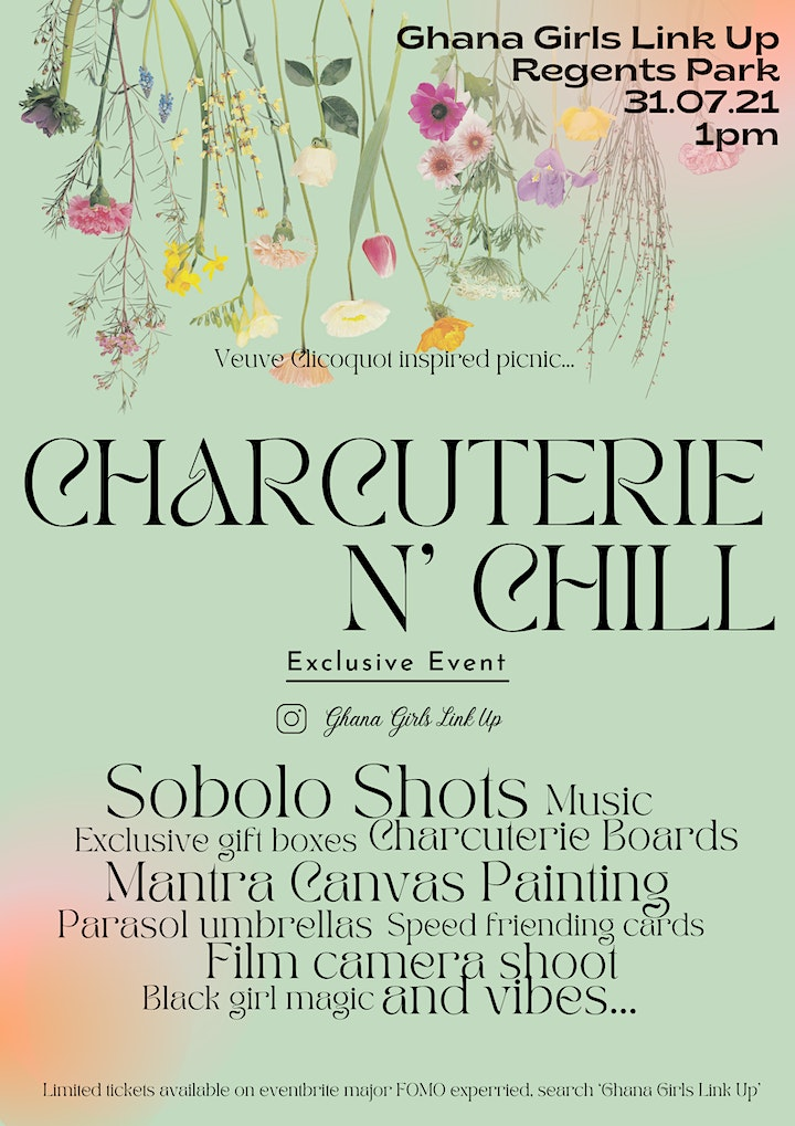 Ghana Girls Link Up- Charcuterie N' Chill image