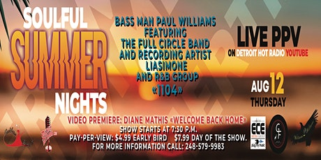 Soulful Summer Nights tickets