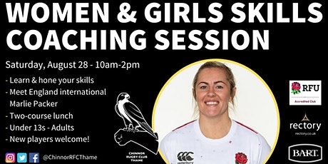 Women & Girls Rugby Skills Coaching Session tickets