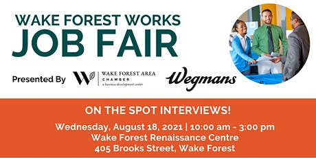 Wake Forest Works Job Fair tickets