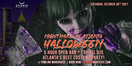 Nightmare in Atlanta Halloween Party tickets