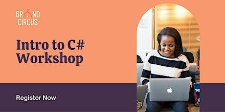 Intro to C# Workshop tickets