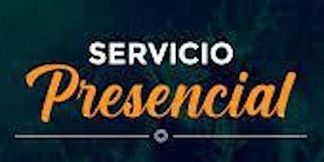 2do. Servicio Dominical - Domingo 1 de Agosto entradas