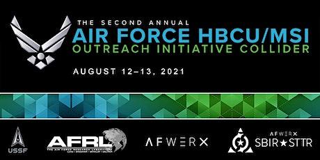 Air Force HBCU/MSI Outreach Initiative Collider tickets