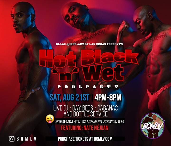 BQMLV Presents  The Hot Black N Wet Pool Party image