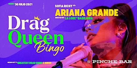Drag Queen Bingo Ariana Grande boletos