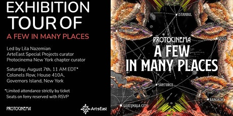 """Tour of """"A Few in Many Places"""" exhibition led by curator Lila Nazemian tickets"""