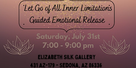 Guided Emotional Release Event tickets