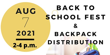 Back to School Fest &  Backpack Distribution tickets