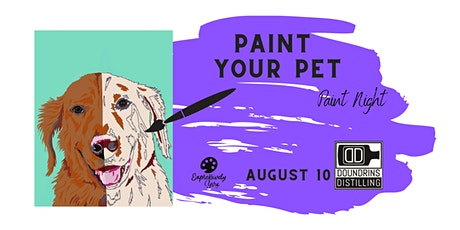 Paint Your Pet Paint Night @Doundrins tickets