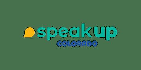 Speak Up Colorado class - Colorado Springs tickets