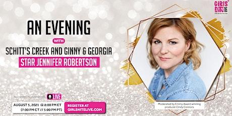 An Evening with Schitt's Creek and Ginny & Georgia star Jennifer Robertson tickets