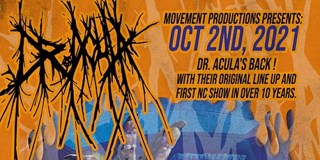 Dr. Acula And Friends At Gpazz tickets