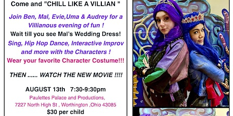 """""""Descendants: The Royal Wedding """" Premier Watch Party with the Characters! tickets"""