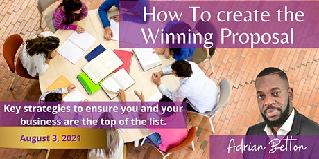 How to create the winning proposal ! tickets