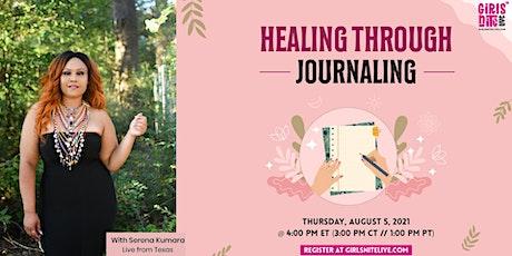 Healing through Journaling tickets