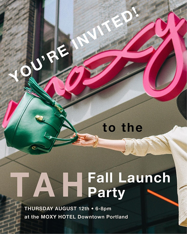 TAH Bags Fall Launch Party image